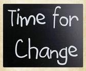время для изменения — Стоковое фото