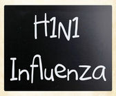 H1N1 Influenza Virus — Stock Photo