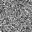 Seamless background with QR code pattern - Stock Photo