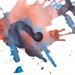 Royalty-Free Stock Photo: Abstract watercolor blots
