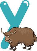 Y pour yak — Vecteur