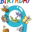 Royalty-Free Stock : Eleventh birthday anniversary design