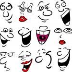 Cartoon emotions illustration — Stock Vector #10408535