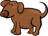 Doodle kreskówka pies — Wektor stockowy