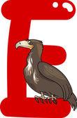E 为鹰的 — 图库矢量图片