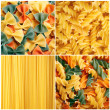 Stock Photo: Pasta collage