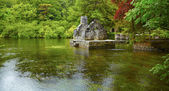 Monk's fishing house at Cong Abbey — ストック写真