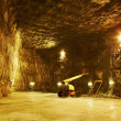 Praid salt mine — Stock Photo