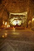 Cappella a praid miniera di sale — Foto Stock