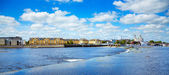 Athlone city and Shannon river — Foto de Stock