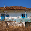 Stock Photo: Abandoned house in Dobrogea