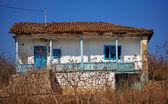 Abandoned house in Dobrogea — Stock Photo