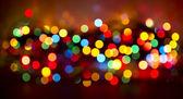 Christmas lights. — Stock Photo