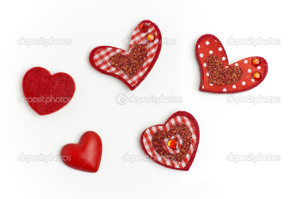 Hobbies heart  isolated on a white background. — Stock Photo #8591474