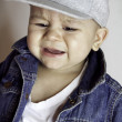 Baby boy crying — Stock Photo #10239792