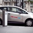 Autolib electric car Paris — Stock Photo