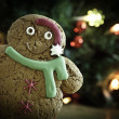 Gingerbread xmas new year - Stock Photo