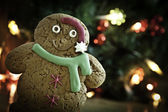 Gingerbread xmas new year — Stock Photo