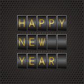Happy new year code — Stock Vector