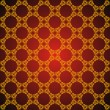 Seamless abstract golden orient pattern — Stock Vector