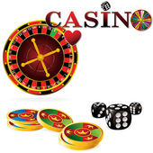 Casino sign — Stock Vector