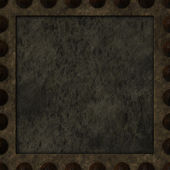 Rusty panel — Stock Photo