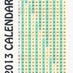 2013 vector calendar — Stock Vector #9739846