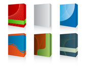 3d software box — Stock Vector