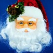 Santa face — Stock Photo