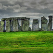 Stonehenge HDR - Stock Photo