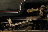 Locomotive drive shaft — Stock Photo