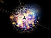 時間の桁の数字 — ストック写真