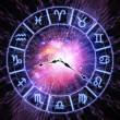 Zodiac clock — Stock Photo #10125524
