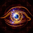 Eye of artificial intelligence — Stock Photo #10125679