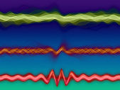 Sound Sine Waves — Stock Photo