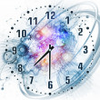 Time backdrop — Stock Photo
