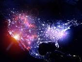 Lights of the USA — Stock Photo