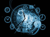 Gears of time — Foto Stock