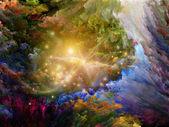 Içindeki renk miktarını bulur — Stok fotoğraf
