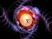 Zegar wszechświata — Zdjęcie stockowe