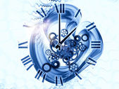 Time gears — Stockfoto