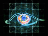 Technology eye — Stock Photo