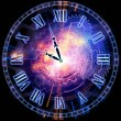 Stock Photo: Clock universe