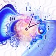 Stock Photo: Swirls of time