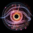 Eye of artificial intelligence — Stock Photo #10362404