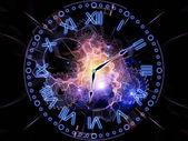 Abstract clock — Stockfoto