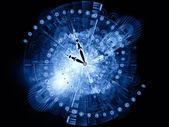 Funcionamiento del tiempo — Foto de Stock