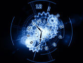 Processing of time — Stock Photo