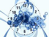 Flujo de tiempo — Foto de Stock