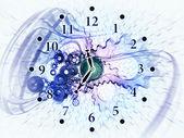 Engrenagens do tempo — Foto Stock